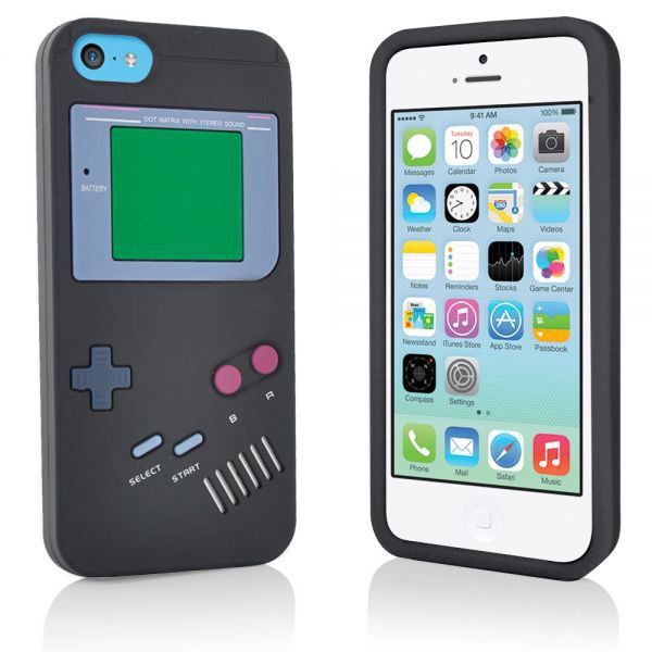 coque silicone gameboy noire pour iphone 5c achat vente coque silicone gameboy noir cdiscount. Black Bedroom Furniture Sets. Home Design Ideas