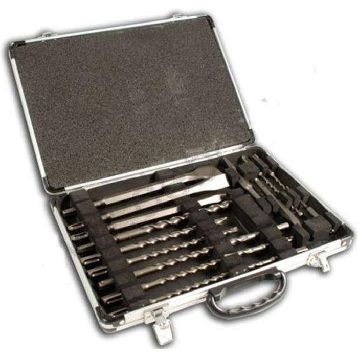 Jeu de burins SDS-Plus 5 pièces Makita D-42379 Longueur 250 mm 1 set
