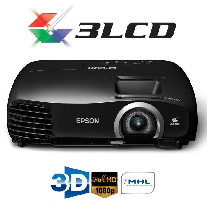 epson eh tw5200 vid oprojecteur full hd 3d achat vente. Black Bedroom Furniture Sets. Home Design Ideas