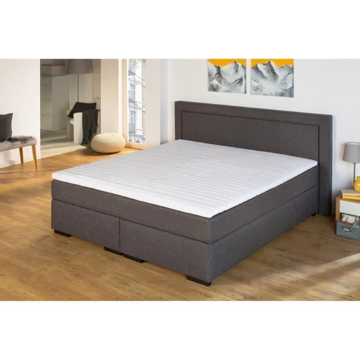 nalle surmatelas 160x200 hr achat vente sur matelas cdiscount. Black Bedroom Furniture Sets. Home Design Ideas