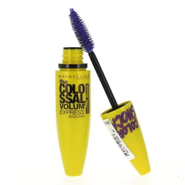 gemey maybelline mascara colossal color shock achat vente mascara gemey maybelline. Black Bedroom Furniture Sets. Home Design Ideas