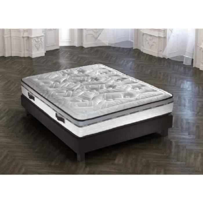 sublime ensemble matelas sommier 160x200 ressort equilibr 722 ressorts tapissier 17. Black Bedroom Furniture Sets. Home Design Ideas