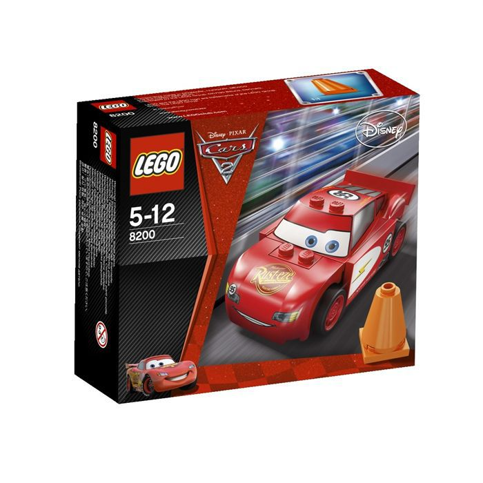 lego cars flash mc queen achat vente assemblage. Black Bedroom Furniture Sets. Home Design Ideas