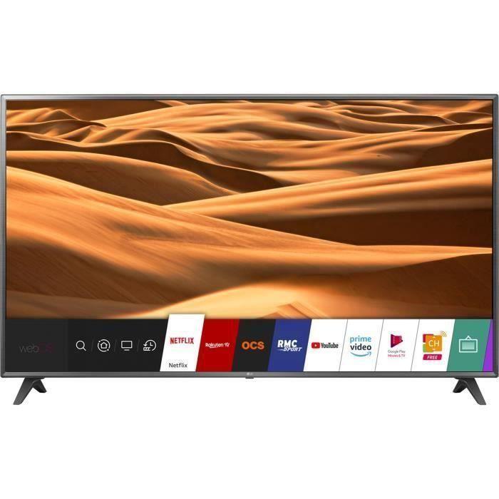 """Téléviseur LED LG 75UK6200 TV LED 4K UHD -75"""" (189cm) - Son Ultra"""