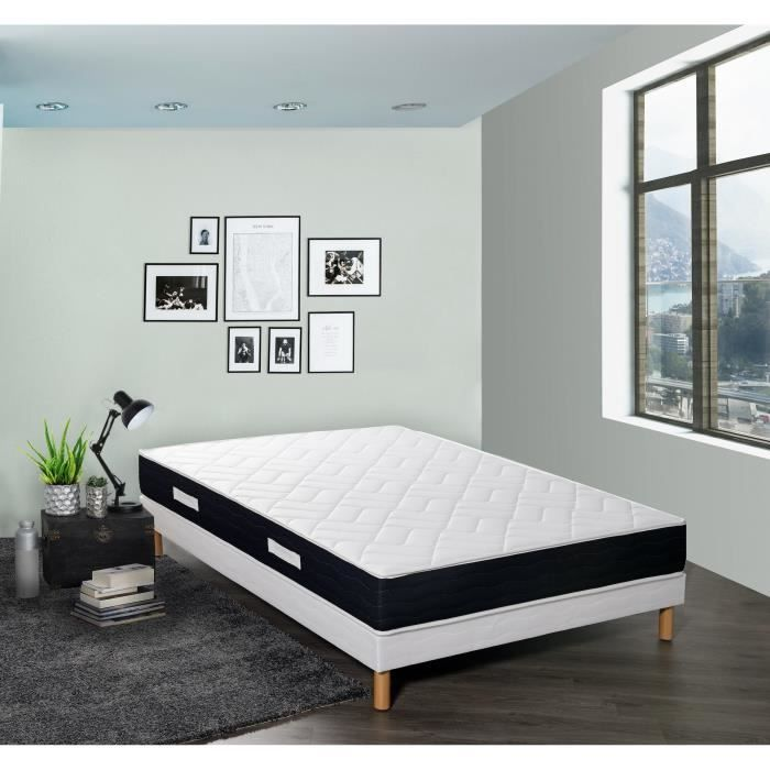 green latex matelas 160x200 cm latex equilibr 65 kg m3 2 personnes achat vente. Black Bedroom Furniture Sets. Home Design Ideas