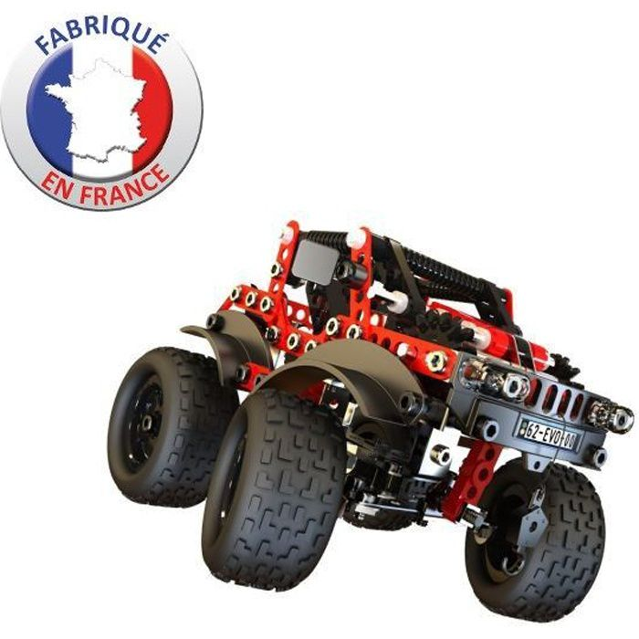 meccano evolution 4 x 4 achat vente assemblage construction cdiscount. Black Bedroom Furniture Sets. Home Design Ideas