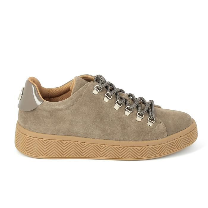 Taupe Gris Basket No Ginger Name Sneakers Achat Mode SMqpVzGU