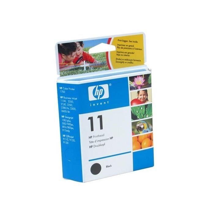 TÊTE D'IMPRESSION HP 11 - C4810A - Tete d'impression noire
