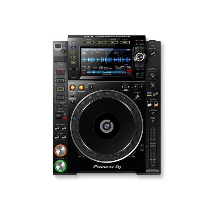 pioneer cdj 2000nxs2 platine cd avis et prix pas cher. Black Bedroom Furniture Sets. Home Design Ideas