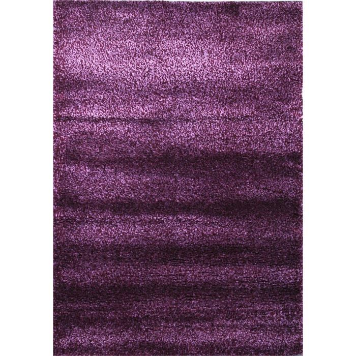 tapis shaggy premium 140 200cm violet achat vente tapis polypropyl ne cdiscount. Black Bedroom Furniture Sets. Home Design Ideas