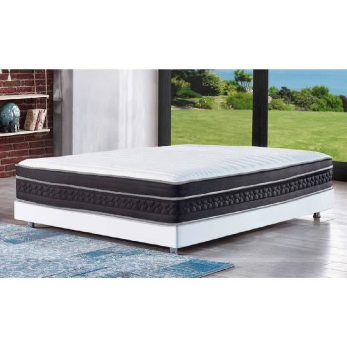 reca bedding matelas pr sident 140x200 cm ressorts et m moire de forme mi ferme 24 cm. Black Bedroom Furniture Sets. Home Design Ideas