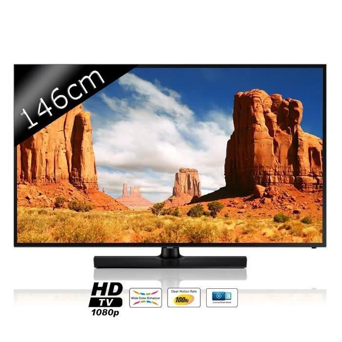 samsung ue58h5200 tv led full hd 146cm 58 achat vente t l viseur led samsung ue58h5200 tv. Black Bedroom Furniture Sets. Home Design Ideas