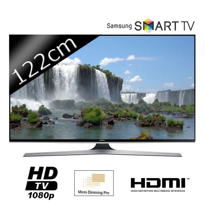 samsung tv ue48j6200 full hd 1080p 121cm 48 pouces. Black Bedroom Furniture Sets. Home Design Ideas