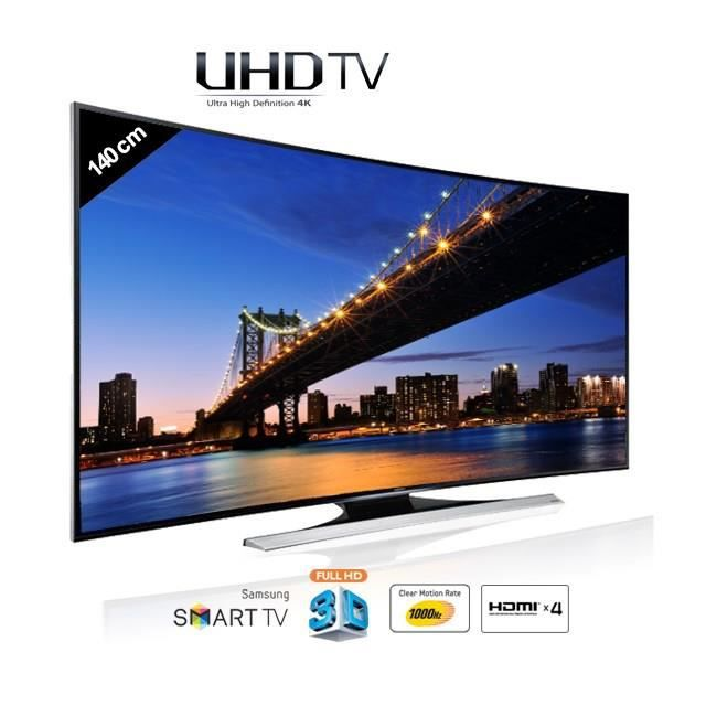 samsung ue55hu8200 curved uhd 4k 140 cm t l viseur led. Black Bedroom Furniture Sets. Home Design Ideas