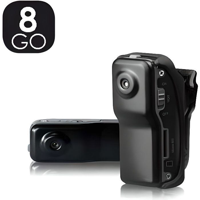 mini camera camera sport 8 go espion achat vente cam ra sport cdiscount. Black Bedroom Furniture Sets. Home Design Ideas