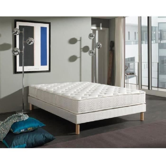 dormaflex ensemble matelas sommier 160x200cm 23cm latex. Black Bedroom Furniture Sets. Home Design Ideas