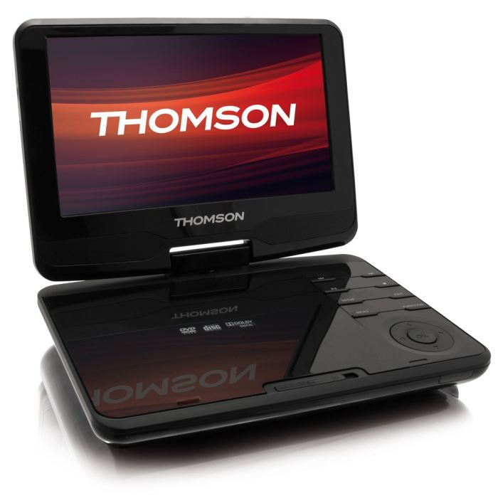 thomson dp9200 lecteur dvd portable 9 lecteur dvd portable prix pas cher cdiscount. Black Bedroom Furniture Sets. Home Design Ideas