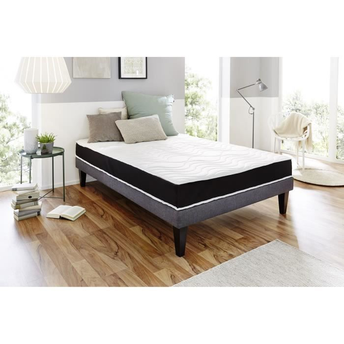 dormipurmemo v850 matelas 160 x 200 cm mousse polyur thane et m moire de forme equilibr. Black Bedroom Furniture Sets. Home Design Ideas