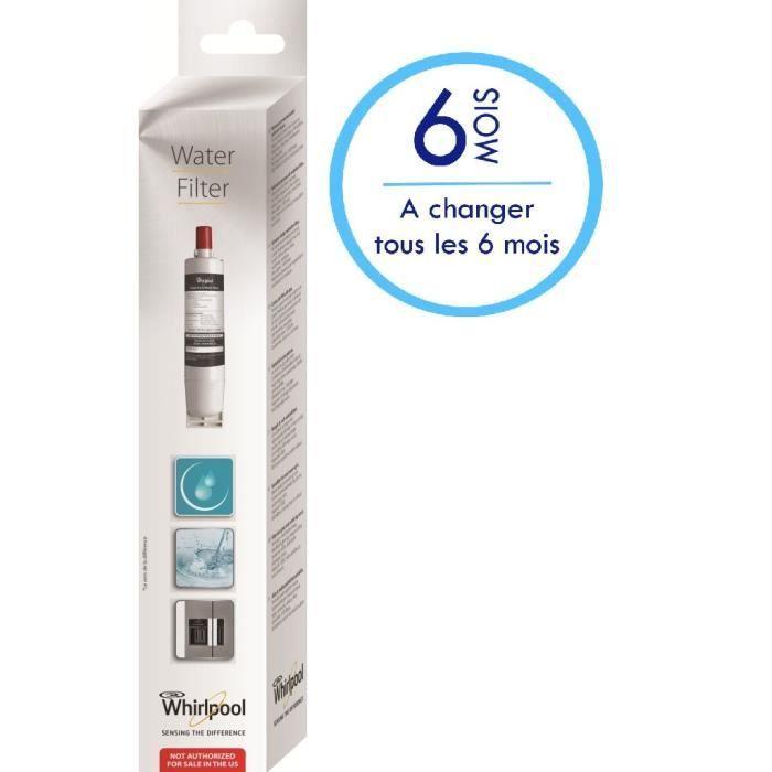 SBS002-481281729632 Filtre à eau pour frigo US Whirlpool Eurofilter WF004