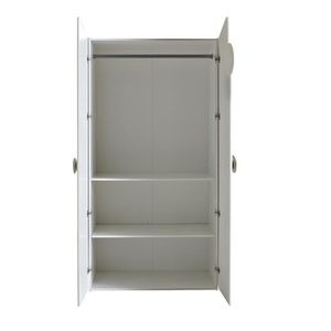 Meuble b b achat vente meuble b b pas cher cdiscount for Armoire bebe blanche