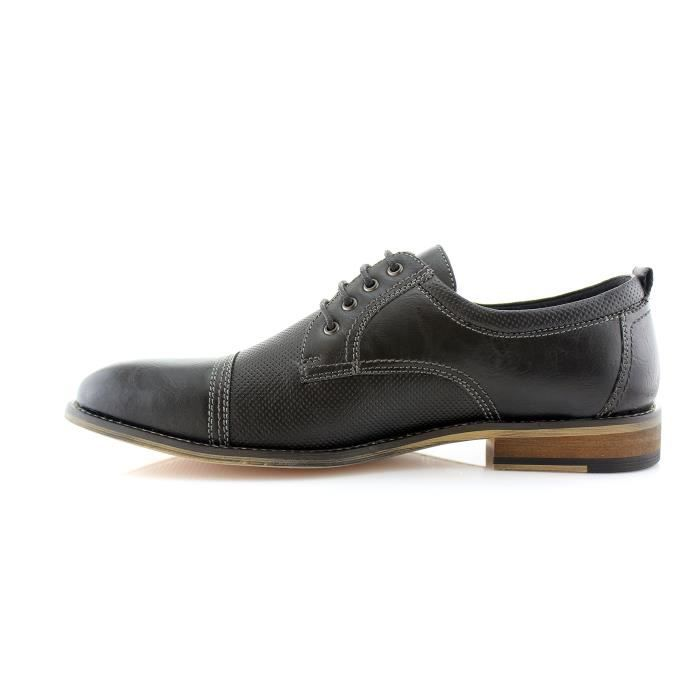 Ferro Aldo Mens Oxfords Modern Classic Captoe Chaussures Robe X85T7 Taille-46