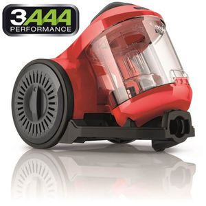 DIRT DEVIL DD2620-1 Aspirateur traîneau sans sac Ultima Red - 800W - 82 dB - A - Rouge