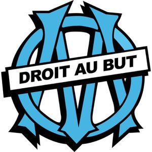 STICKERS Stickers foot OM Olympique de Marseille Dimensi...