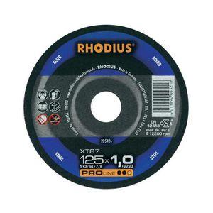 ACCESSOIRE MACHINE Disque à tronçonner 115 mm Rhodius FT67 TOP 115…