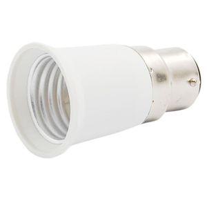 AMPOULE - LED B22 vers E27 Adaptateur de la douille de l'ampoule