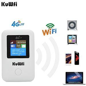 MODEM - ROUTEUR Routeur Mobile 4G WiFi, KuWFi 150Mbps Routeur 4G L