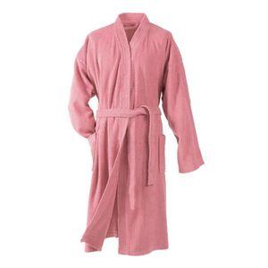 PEIGNOIR DOUCEUR D'INTERIEUR Peignoir kimono éponge 100% co