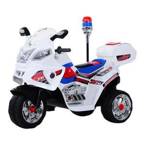 MOTO - SCOOTER Moto scooter électrique pour enfants modèle polici