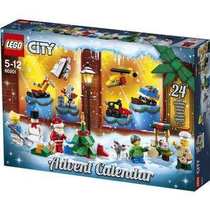ASSEMBLAGE CONSTRUCTION LEGO® City 60201 Le calendrier de l'Avent O City -