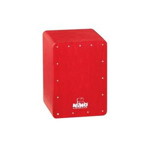 CAJON Shaker mini cajon rouge - NINO955R