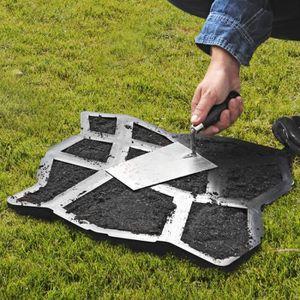 DALLAGE Moule à pavé béton 42 x 42 x 4 cm