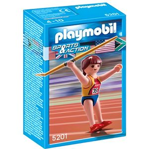 UNIVERS MINIATURE Playmobil Lanceuse De Javelot