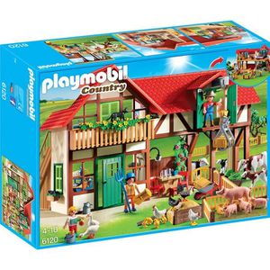 UNIVERS MINIATURE PLAYMOBIL 6120 - Country - Grande ferme
