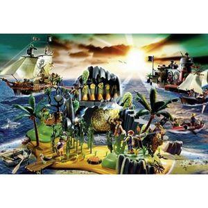 PUZZLE Puzzle 150 Pièces Playmobil Ile Des Pirates