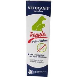 ANTIPARASITAIRE VETOCANIS Sirop contre les vers - 125 ml - Pour ch