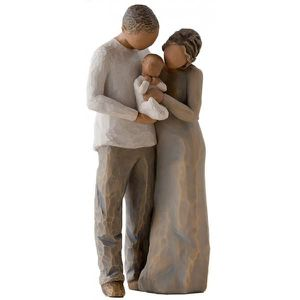 FIGURINE - PERSONNAGE NOUS SOMMES TROIS FIGURINE WILLOW TREE