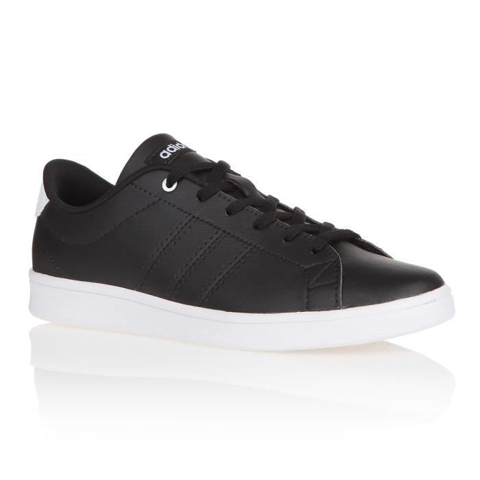 BASKET MULTISPORT ADIDAS Baskets Advantage Clean Qt - Femme - Noir