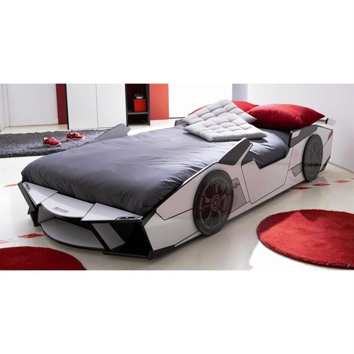 matador lit voiture enfant 90x190 200 achat vente. Black Bedroom Furniture Sets. Home Design Ideas