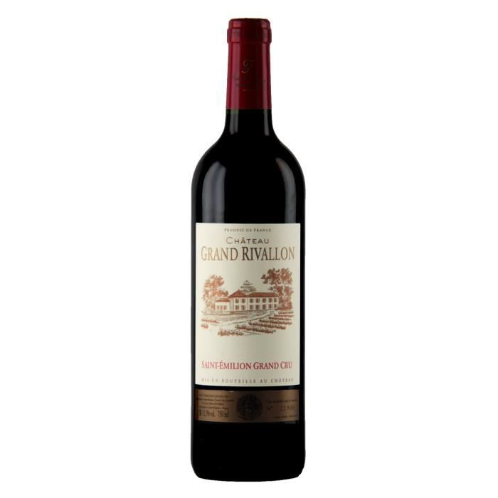 Château Grand Rivallon 2015 - Saint Emilion Grand Cru