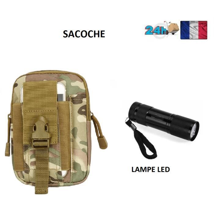 SACOCHE UNIVERSEL HOMME MOBILE CAMOUFLAGE ARMEE IPHONE SAMSUNG LG SONY COULEUR BEIGE ARME IDEE CADEAU NOEL LAMPE OFFERT