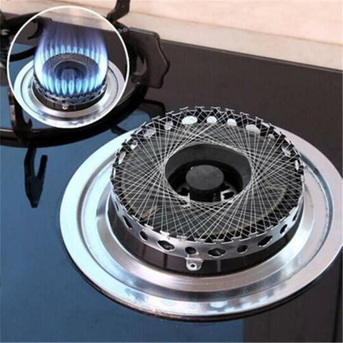 Fournit une hotte à économie d'énergie coupe-vent cuisinière gaz de cuisine haute qualité - Argent @ @amy5628