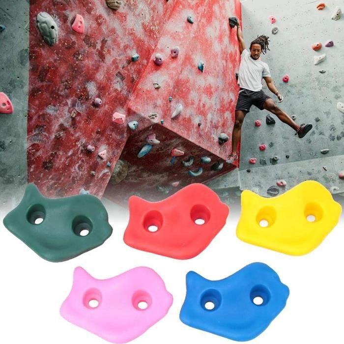 PRISE D'ESCALADE SALUTUYA Le Mur d'escalade Contient des Accessoires d'escalade d'&eacutequilibre color&eacute d'agilit&eacute97
