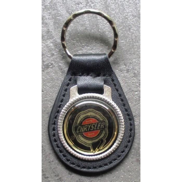 porte clé métal cuir chrysler logo automobile usa pt 300c