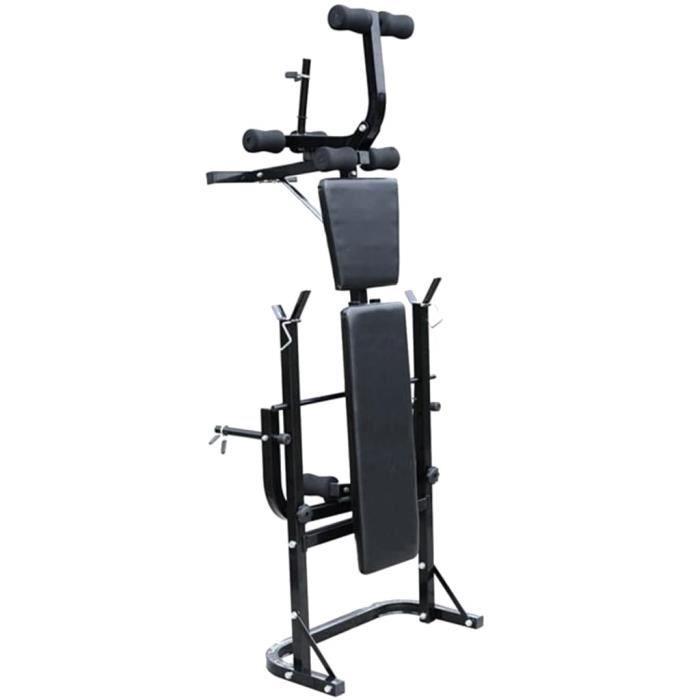 PRO© Banc de musculation Style Classique - Appareil de musculation Multifonctionnel complet 88130 :-)