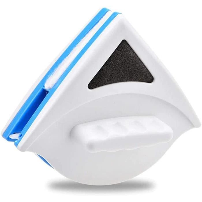 Ouumeis Nettoyant Magnétique Couche Simple Face avec Corde Anti-Chute. Lave-Vitres Magnétique pour Fenêtres À Simple Vitrage, pour W