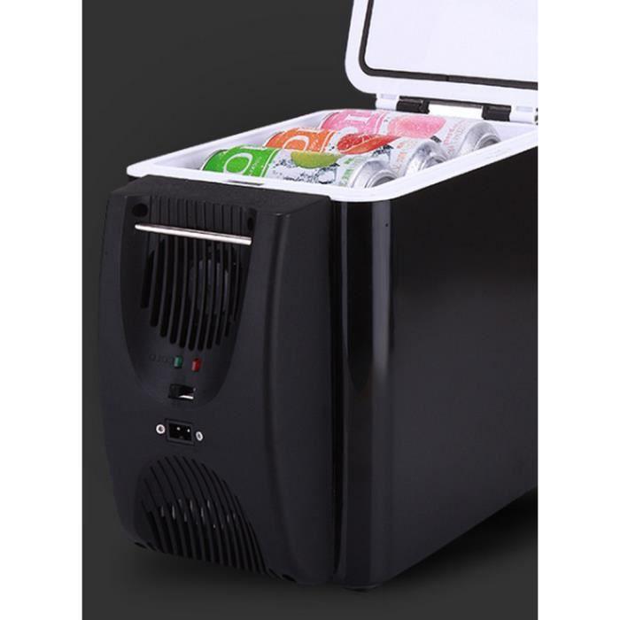 6L Réfrigérateur de voiture portable Petit micro mini réfrigérateur petit réfrigérateur Muet écologique réfrigérateur de voiture sem